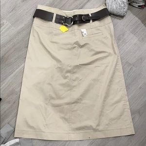 Gerry Weber belted skirt NWT size 10